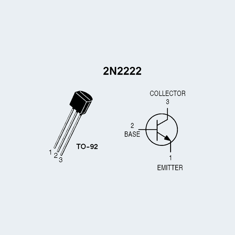 Etqan.sa السعودية اتقان   2N2222 NPN Transistor BJT اشتري
